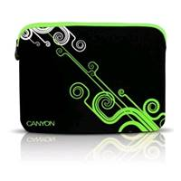 "Чехол Canyon Laptop Case NB Sleeve 10"" Black/Green (SBCNRNB21G)"