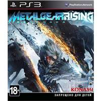Игра Metal Gear Rising: Revengeance  PS3, русская документация 4012927055090