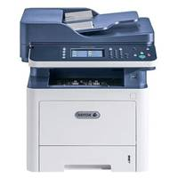 МФУ лазерный XEROX WorkCentre 3335DNI (принтер /сканер /копир /факс, Duplex, ЖК, бело-синий (USB2.0, LAN, WiFi)